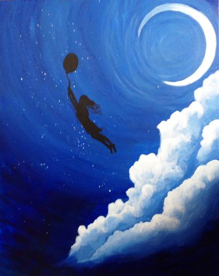 A Dream Away paint nite project by Yaymaker