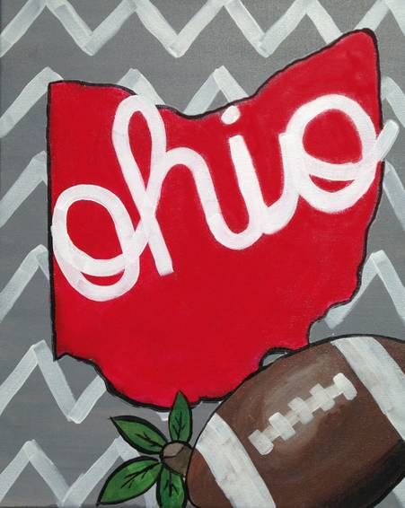 A Bold Buckeye paint nite project by Yaymaker