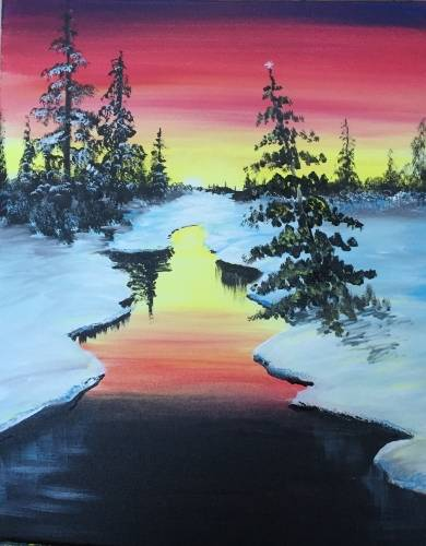 A Black Ice paint nite project by Yaymaker