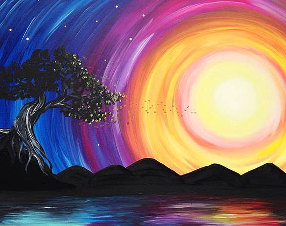 A Aruba paint nite project by Yaymaker