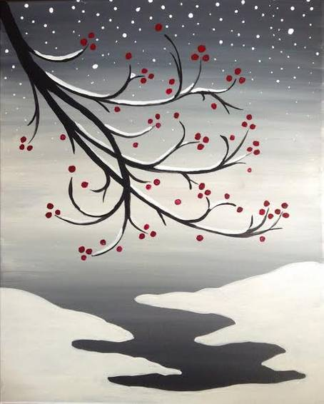 A Winterberry Cove paint nite project by Yaymaker