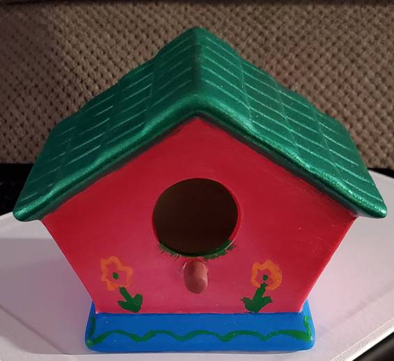 A Virtual Birdhouse Painting Crafty Fun Night  experience project by Yaymaker