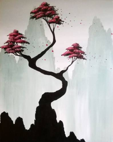 A Still Wandering paint nite project by Yaymaker