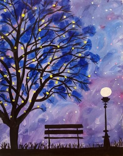 A Waiting for Tonight paint nite project by Yaymaker