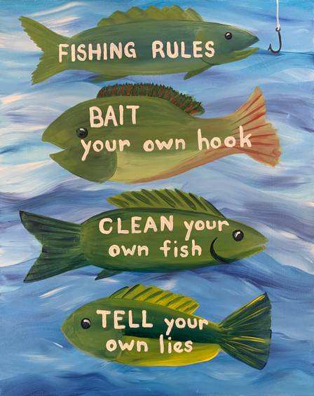 A Fishing Rules experience project by Yaymaker