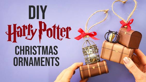 A Make Your Own Harry Potter Ornaments Supplies shipped to you experience project by Yaymaker
