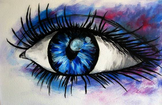 A Got My Eye On You paint nite project by Yaymaker