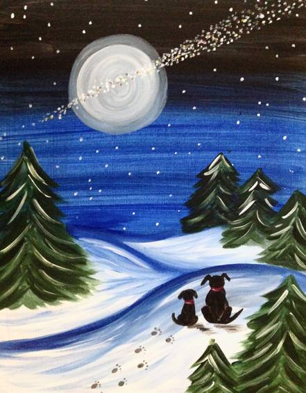 A We Believe paint nite project by Yaymaker
