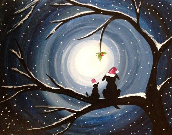 A Furry Friendship paint nite project by Yaymaker