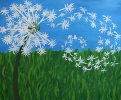 A Dandelion 1 paint nite project by Yaymaker