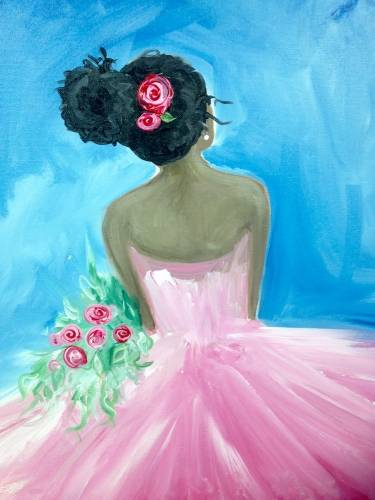 A Pretty in Pink III paint nite project by Yaymaker
