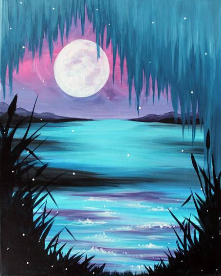 A Kiss the Girl paint nite project by Yaymaker