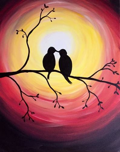 A Good Morning Sunshine II paint nite project by Yaymaker