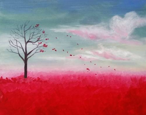 A Gone With the Wind II paint nite project by Yaymaker