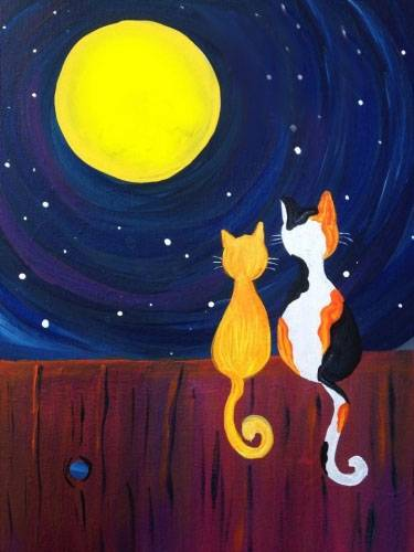 A Life Right Meow III paint nite project by Yaymaker
