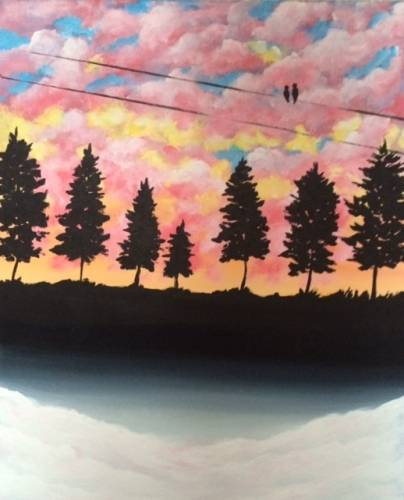 A Last Light II paint nite project by Yaymaker