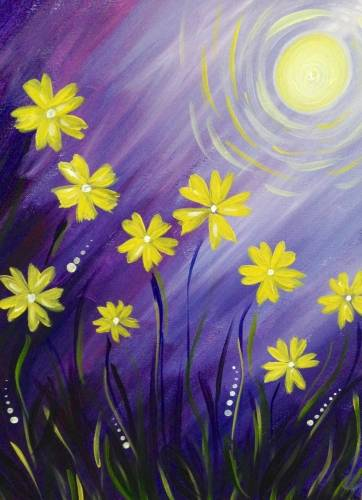 A Spring Blossoms IV paint nite project by Yaymaker