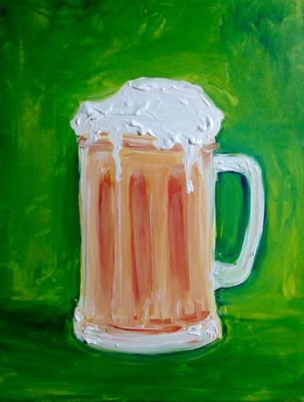 A Because Beer paint nite project by Yaymaker
