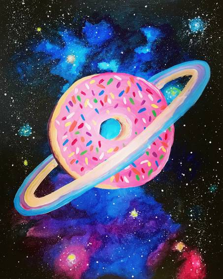 A Deep Space Donut experience project by Yaymaker