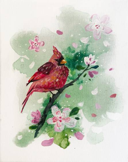A Cardinal on a Branch experience project by Yaymaker