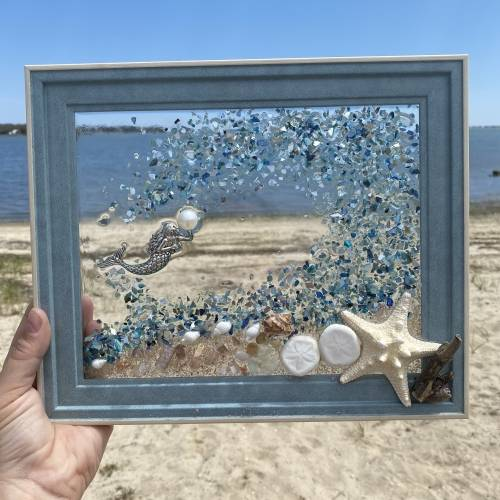 A Seascapes Art Resin Class with teamtavarone experience project by Yaymaker