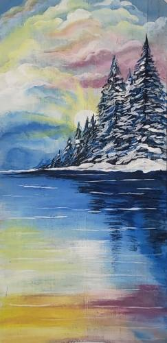A A Little More Winter II 10x20 Canvas experience project by Yaymaker