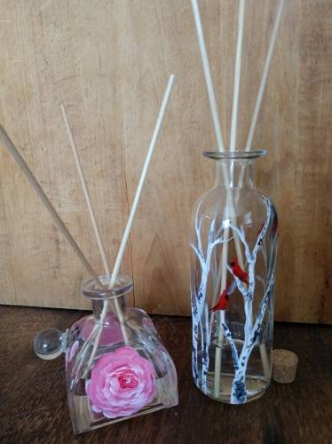 A Essential Oil Diffusers Birch with Cardinals and Rose experience project by Yaymaker