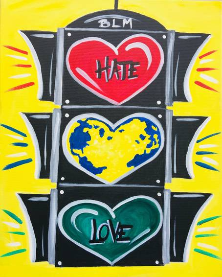 A STOP HATE GO LOVE experience project by Yaymaker