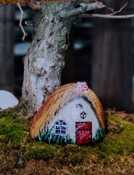 A Painted Rocks Gnome Home  VIRTUAL EVENT experience project by Yaymaker