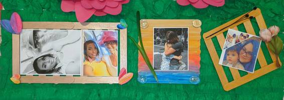 A Love You More Popsicle Stick Frame experience project by Yaymaker