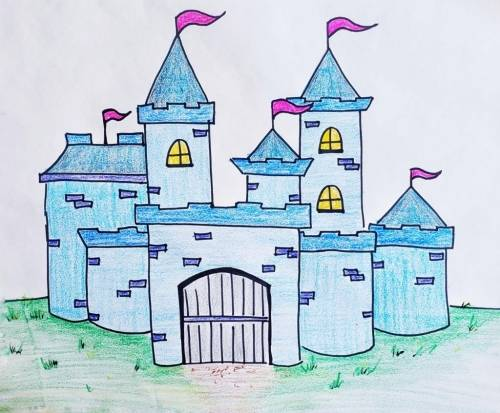 A How to Draw a Castle experience project by Yaymaker