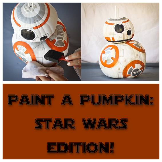 A Paint a Pumpkin  Star Wars Edition experience project by Yaymaker