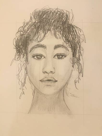 A Learn how to draw a portrait experience project by Yaymaker