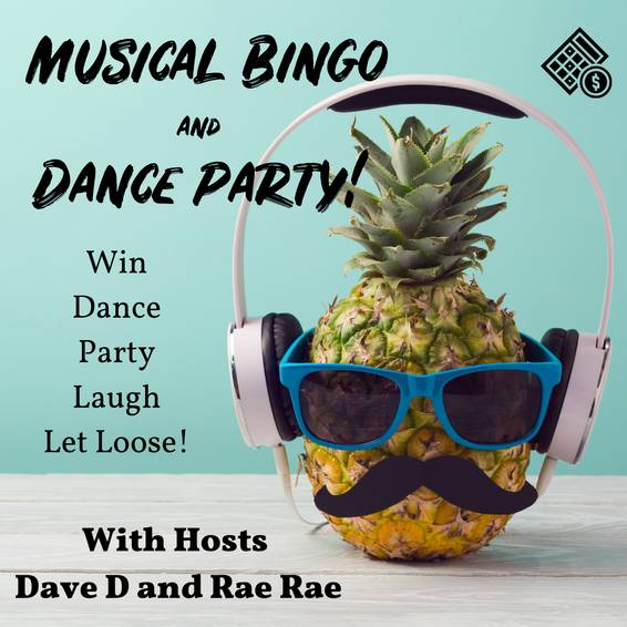 A Musical Bingo with Dave D and Rae experience project by Yaymaker