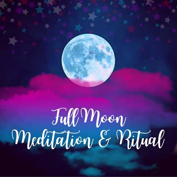 A Full Moon Meditation  Ritual experience project by Yaymaker