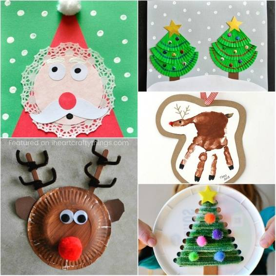 A Kids Christmas Crafts experience project by Yaymaker