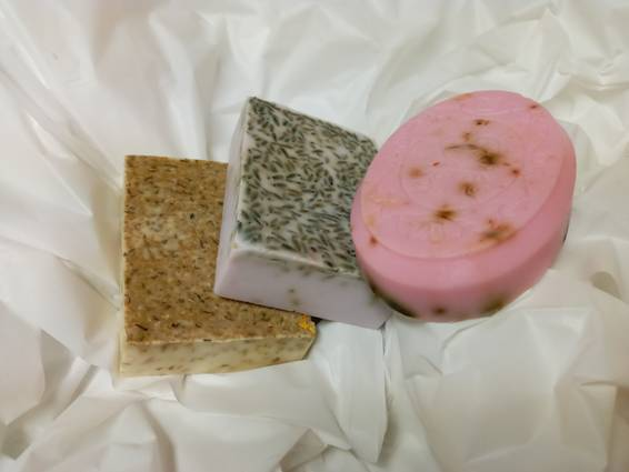 A Make Soap Chamomile Lavender Rose Virtual Event experience project by Yaymaker