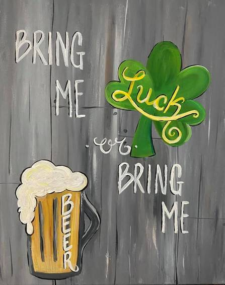 A Bring Me Luck or Bring Me Beer experience project by Yaymaker