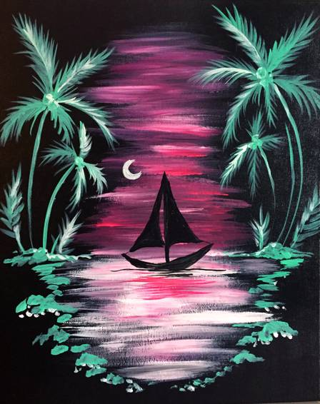 A Midnight Tropical Sail experience project by Yaymaker