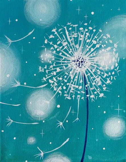 A Bokeh Dandelion Sparkle experience project by Yaymaker