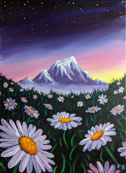 A Purple Mountain Daisies experience project by Yaymaker