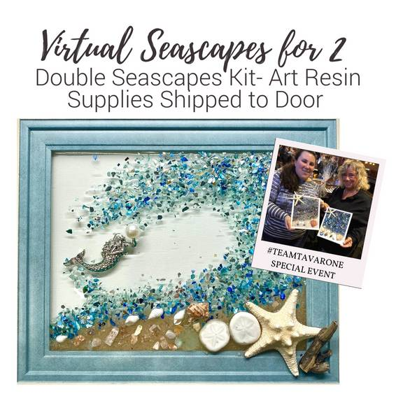 A Virtual Seascapes for 2 with Mermaid Supplies Shipped to Door experience project by Yaymaker