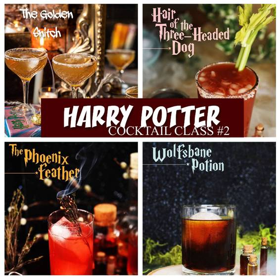 A Harry Potter Cocktail Class 2 experience project by Yaymaker
