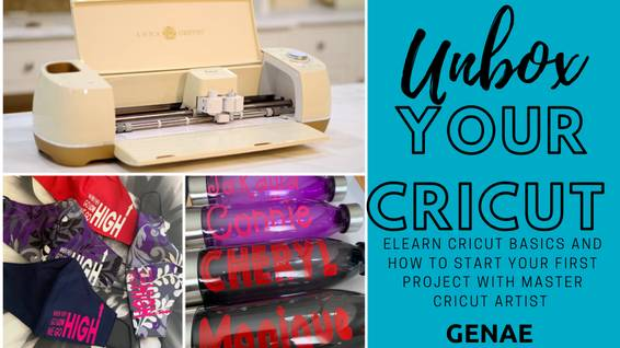 A Unboxing your Cricut With Genae experience project by Yaymaker