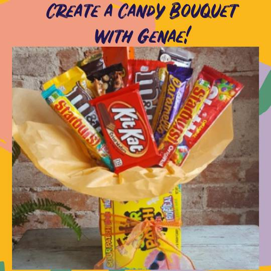 A Create a Candy Bouquet with Genae II experience project by Yaymaker