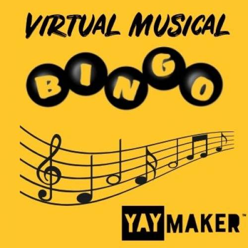 A Virtual Musical Bingo experience project by Yaymaker