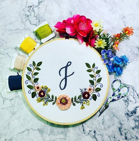 A Modern Embroidery Art  experience project by Yaymaker