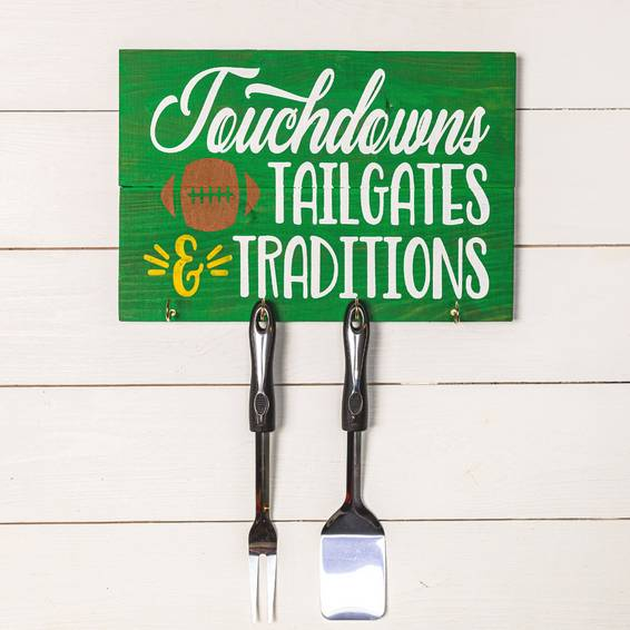 A Kitchen Sign with Hooks Choose your design experience project by Yaymaker