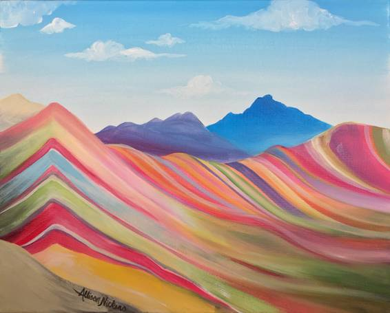 A Vinicunca Rainbow Mountain experience project by Yaymaker