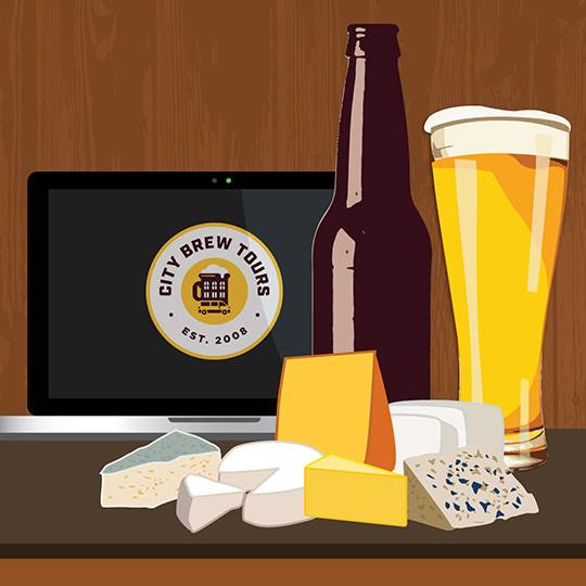 A Guided Beer  Cheese Pairing Event experience project by Yaymaker